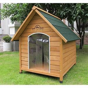 Cabane Pour Chien : pets imperial chenil niche en bois sussex taille xl ~ Melissatoandfro.com Idées de Décoration
