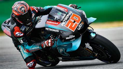 Pada sesi kedua, duo pembalap yamaha vinales dan quartararo tampil garang dengan memimpin jalannya sesi. Hasil Tes Pramusim MotoGP Sirkuit Sepang: Quartararo ...