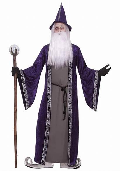 Wizard Costume Adult Warlock Costumes Halloween Dumbledore