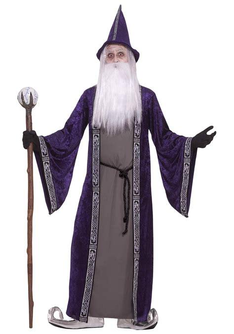 Purple Wizard Costume - Wizard Costumes