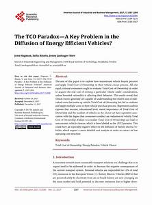 (PDF) The TCO Paradox—A Key Problem in the Diffusion of ...