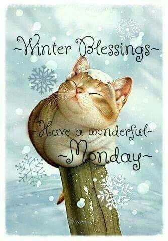 winter blessings   wonderful monday pictures