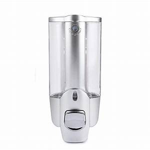 Tuscom 350ml Soap Dispenser Wall Mount Single