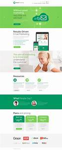 marketing agency website template With how to create email marketing templates