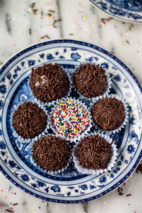 cuisine r騁ro traditional brigadeiros fudge balls 39 s cuisine