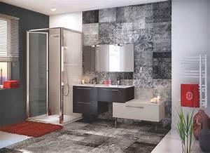 Profilé Alu Salle De Bain : meuble de salle de bains design trend noir beige ~ Premium-room.com Idées de Décoration