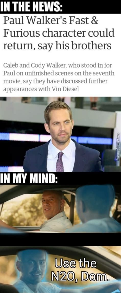 Paul Walker Memes - fast and furious memes best collection of funny fast and furious pictures