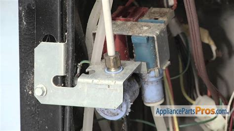 refrigerator water inlet valve part wrx   replace youtube