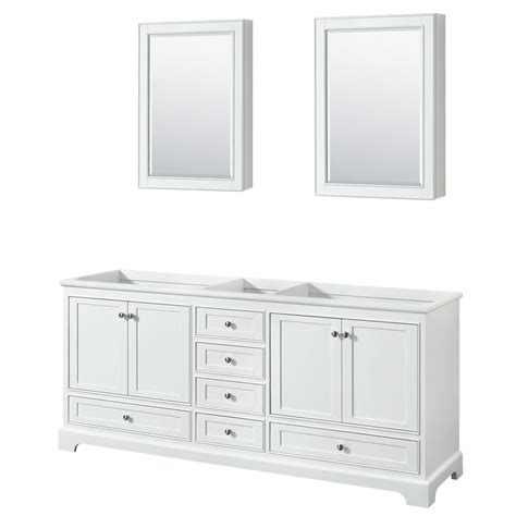 wyndham collection medicine cabinet wyndham collection deborah 79 in w x 21 625 in d vanity