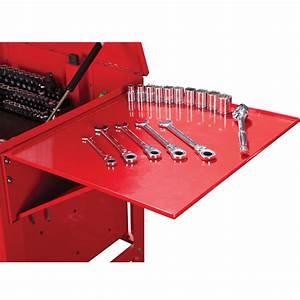 Tool Cart Folding Side Tray