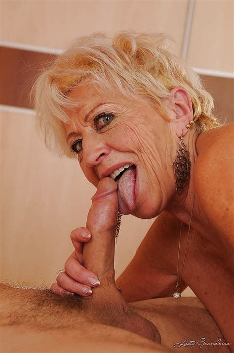Busty Granny Gets Her Hairy Twat Nailed And Takes A