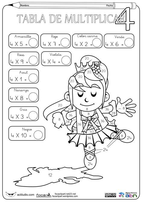 Los juegos educativos online son el futuro del aprendizaje. Colorinets: A POR LA TABLA DEL 4