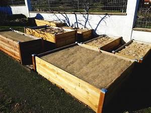 Bac Bois Potager : bacs de permaculture un jardin en pleine terre sans se baisser papycool ~ Melissatoandfro.com Idées de Décoration