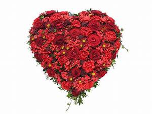 Herz Mit Blumen : herz rote t ne f tschl blumen wien g rtnerei wien trauerfloristik kr nze buketts ~ Frokenaadalensverden.com Haus und Dekorationen