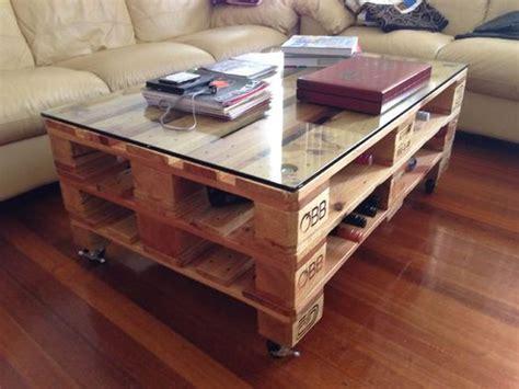 meuble cuisine en palette table basse palette top 69 des idées les plus originales