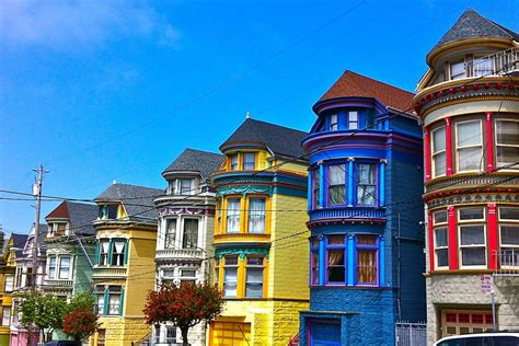 Colourful House by One Of The Haight S Most Colorful Houses Sells For 1 9m