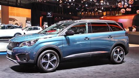 renault alaskan 2017 peugeot 5008 gt 2017 interior exterior walkaround