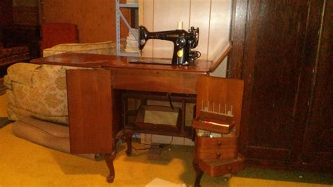 Cabinet Number by Singer 201s Sewing Machine In Cabinet Number 48 Antique