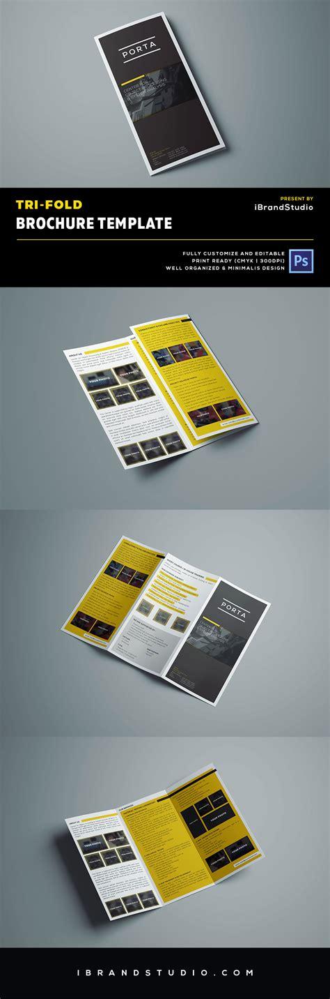 Tri Fold Brochure Template Psd by Free Tri Fold Brochure Template Psd Ideal For Event Or
