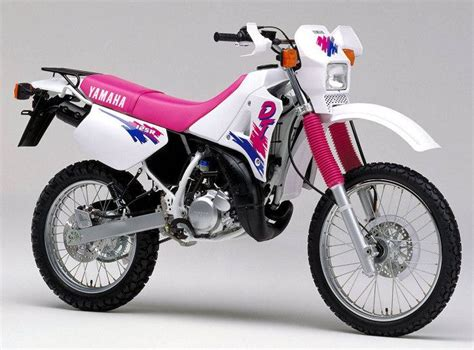 motos yamaha 125 dtlc enduro vintage motorcycles and vespa