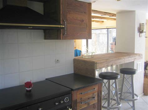cuisine in cuisines bois contemporainesmenuiserie agencement gerard