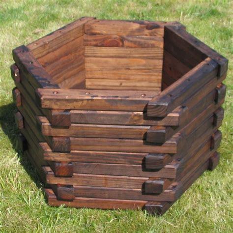 wooden garden planters ideas  pinterest diy