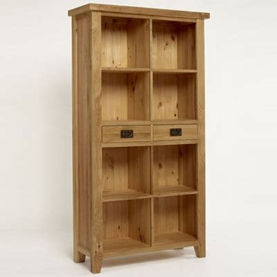 Oak Bookcases With Drawers by Priory Oak Bookcase With 2 Drawers Robson Furniture