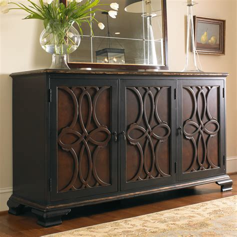 Living Room Credenza by Hamilton Home Living Room Accents Two Tone Credenza With