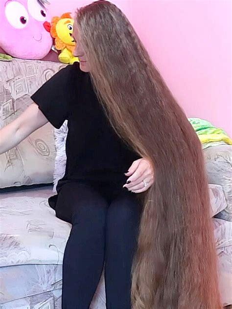 VIDEO - A huge long hair inspiration - RealRapunzels