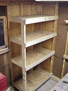 2x4 cabinet plans building a cheap and sturdy garage shelf unit using