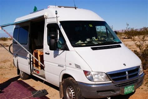 cheap rv livingcom dodge sprinter conversion