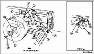 Interior Spare Tire Location