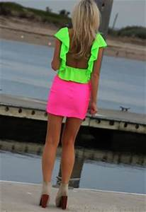 Neon Clothes Tumblr