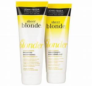 John Frieda Sheer Blonde Go Blonder Lightening Shampoo And