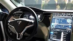 Tesla Model S latest dashboard - YouTube