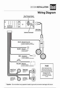 Dual Xdvd256bt Wiring Harness Diagram