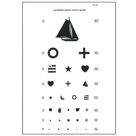 Preschool Eye Chart 10 Feet