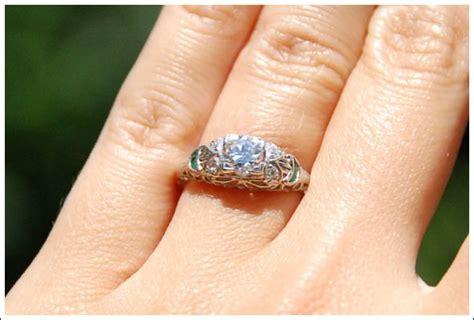 my engagement ring weddingbee