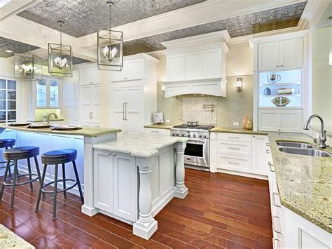 kitchen islands with columns photo page hgtv 5271