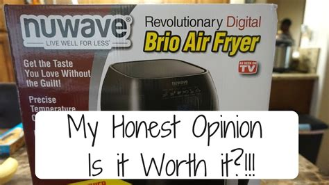 fryer nuwave air worth