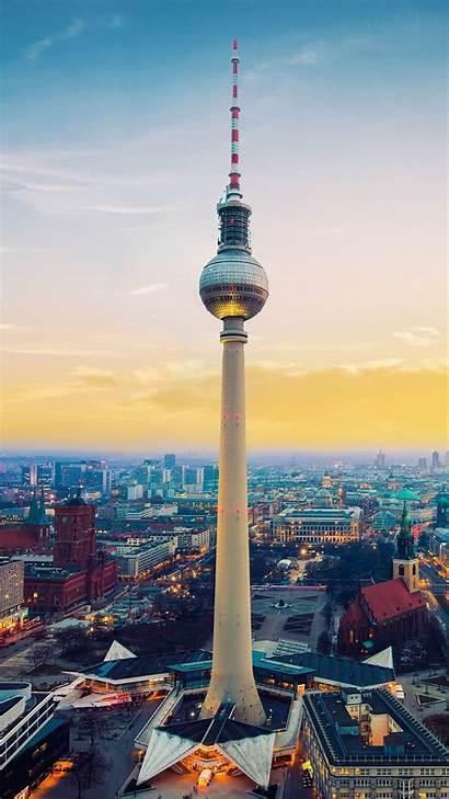 Berlin Germany Tower Tv Fernsehturm 4k Wallpapers