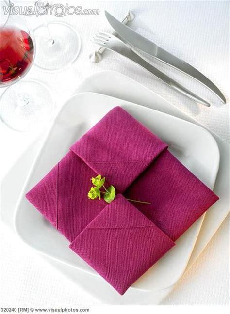 Servietten Falten Leicht by Napkin Folding Design Diplomat Wedding Paper