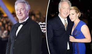 Kate Winslet pays touching tribute to Alan Rickman ahead ...