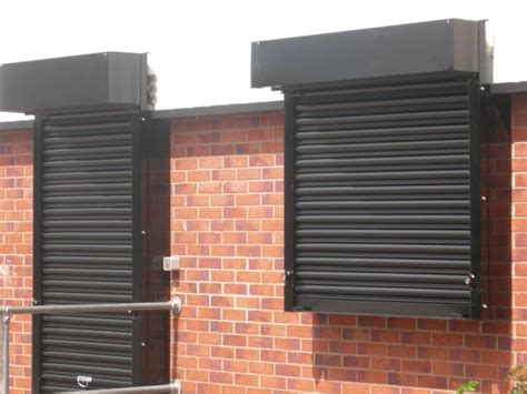 Cetrashield 75  Galvanised Steel Roller Shutter