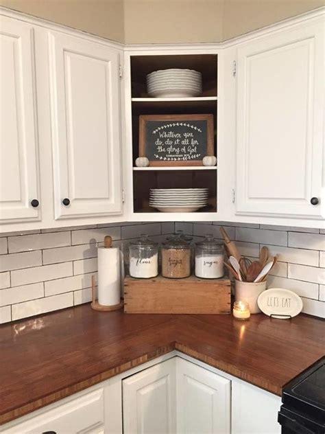 ideas  kitchen counter decorations