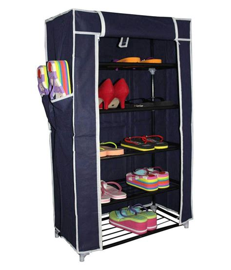 shopper portable foldable  layer storage cum shoe rack  cover shoe rack shoe wardrobe