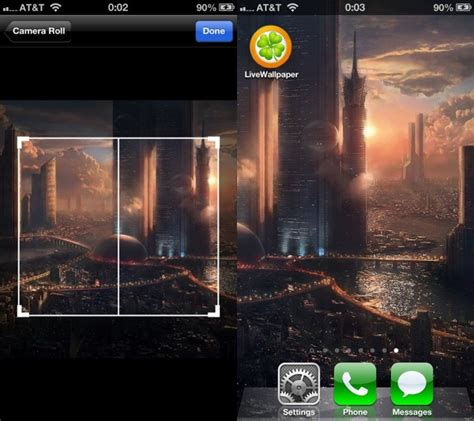 How To Put Animated Wallpaper On Iphone - livewallpaper lets you set scrolling or animated wallpaper