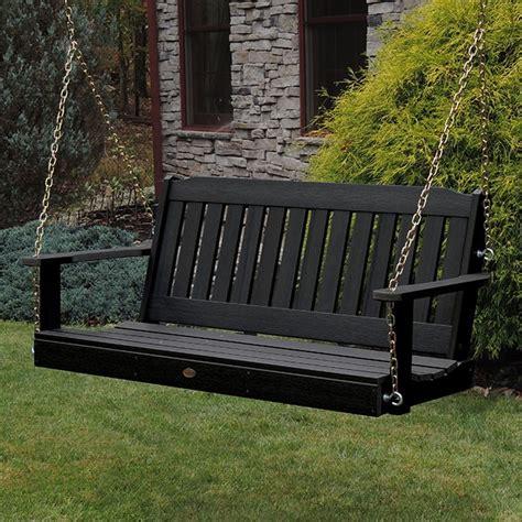 wooden swing sets on sale highwood usa lehigh plastic black hanging porch swing