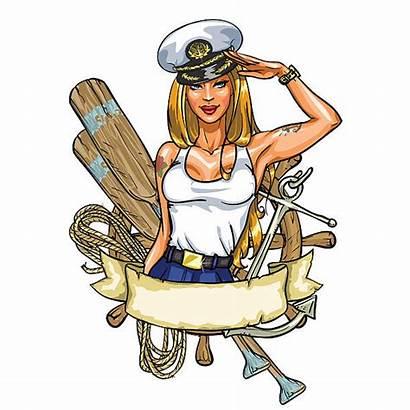 Sailor Vector Illustration Clipart Vectors Label Clip