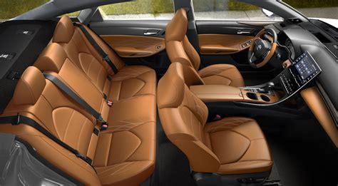toyota avalon interior cognac exterior leather options